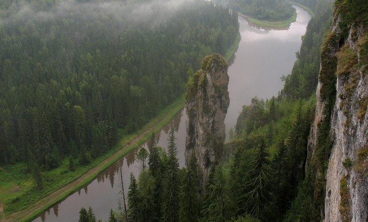 Река Урал, фото