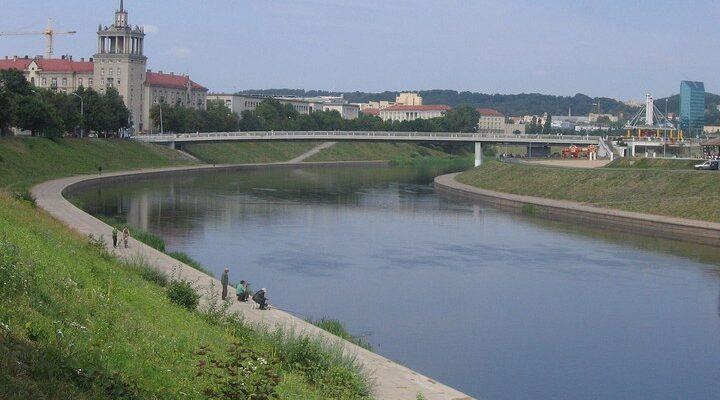Река Вилия, фото