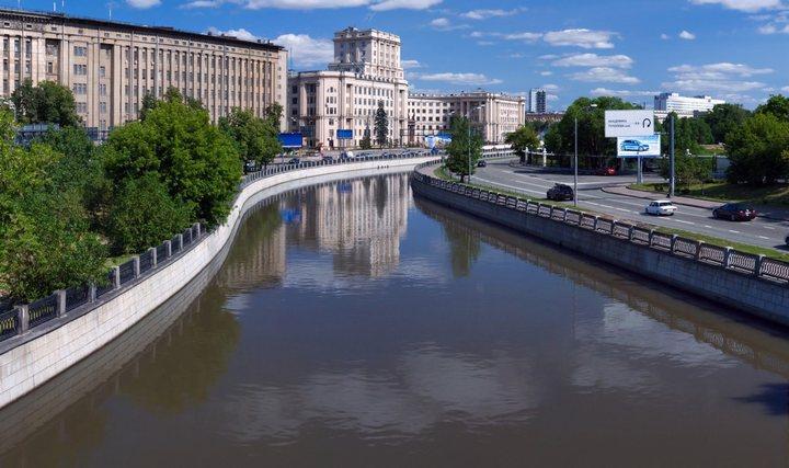 Река Яуза, фото