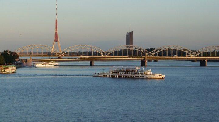 Река Западная Двина, фото