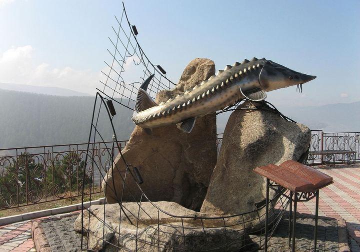 Скульптура Царь-рыба