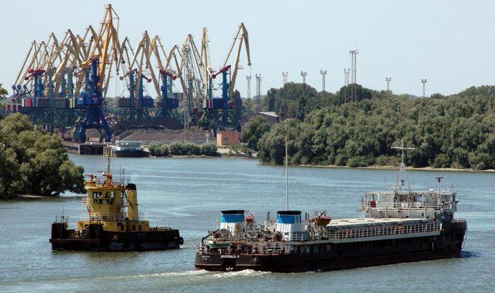 Судоходство на Дунае, фото