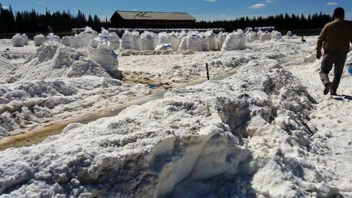 В Сунтарском улусе добывается соль, фото