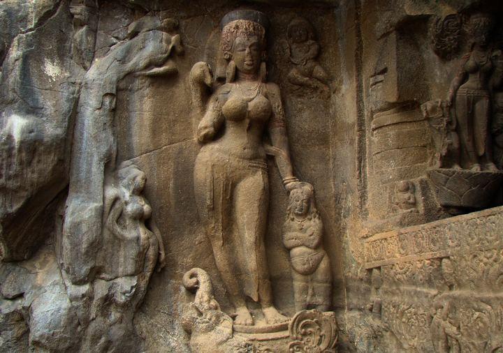 Богиня Ганга в архитектуре, фото