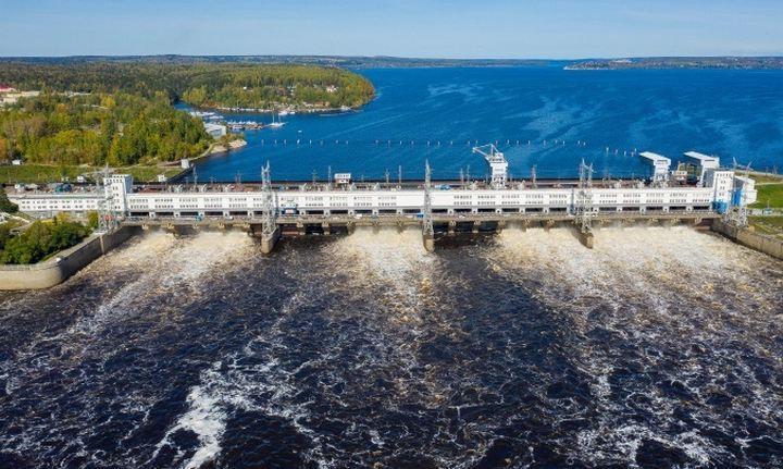 Камская ГЭС, фото