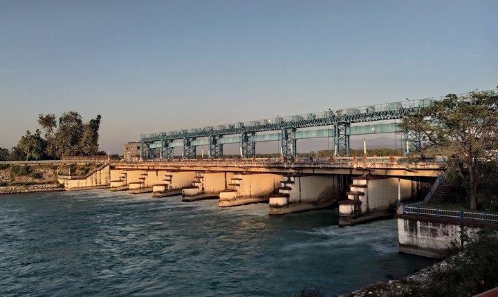Плотина Бхимгода, фото