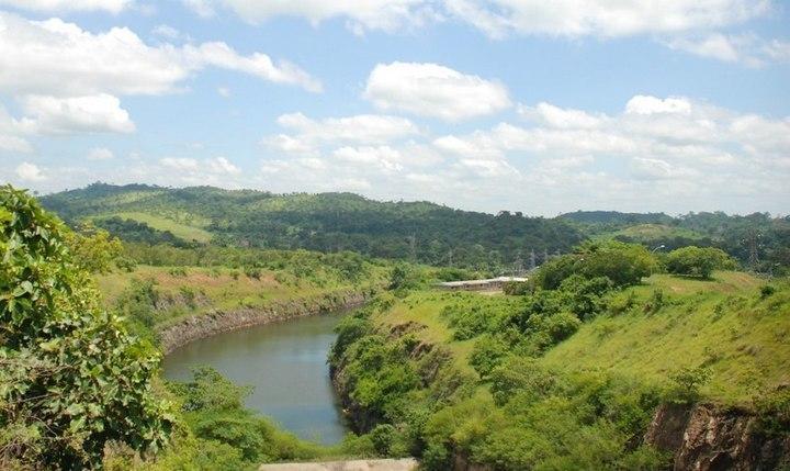 Река Бандама, фото