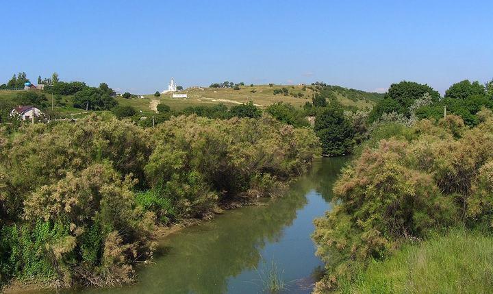 Река Бельбек, фото