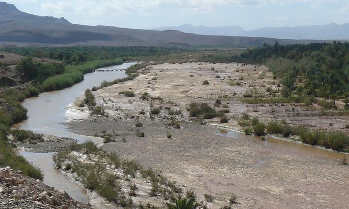 Река Драа, фото