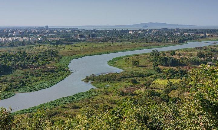 Река Голубой Нил, фото