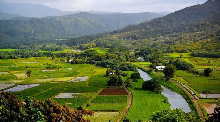 Река Ханалеи, фото