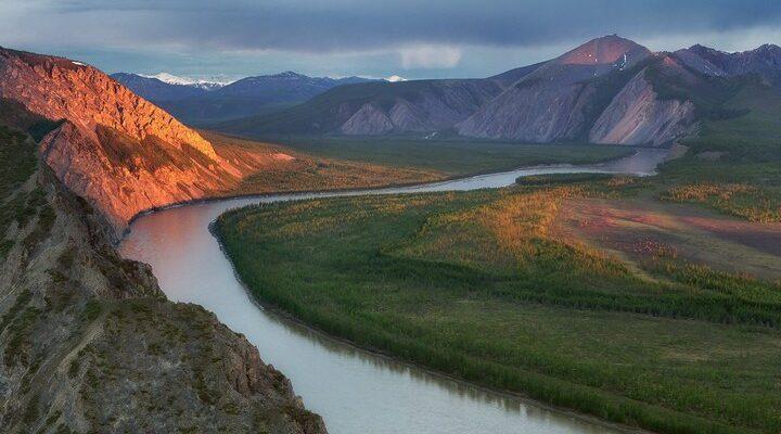 Река Индигирка, фото