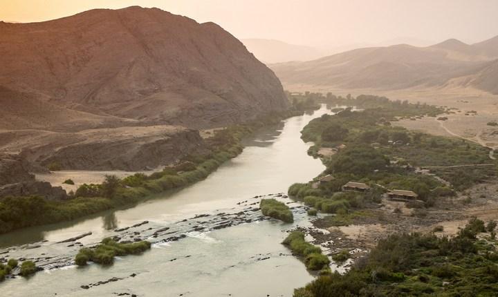Река Кунене, фото
