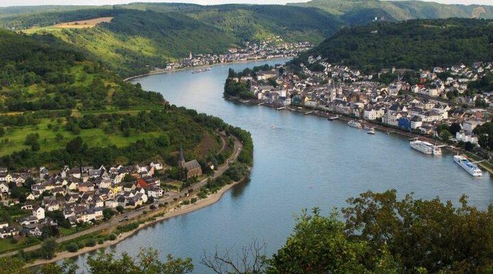 Река Рейн, фото