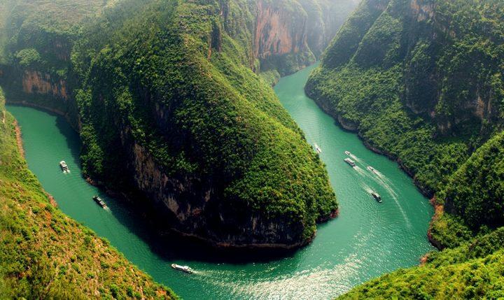 Река Янцзы, фото