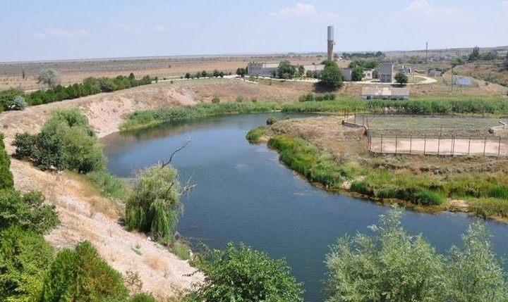 Река Западный Булганак, фото