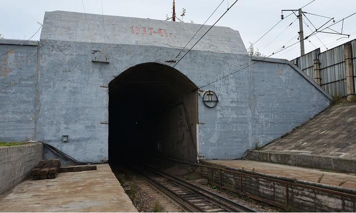 Тоннель под Амуром стройка №4, фото