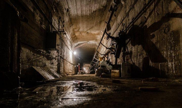 Тоннель под Камской ГЭС, фото
