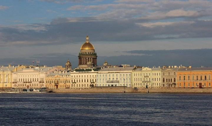 Английская набережная в Санкт-Петербурге, фото