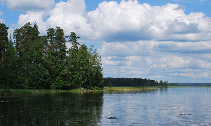 Глубокое озеро, фото