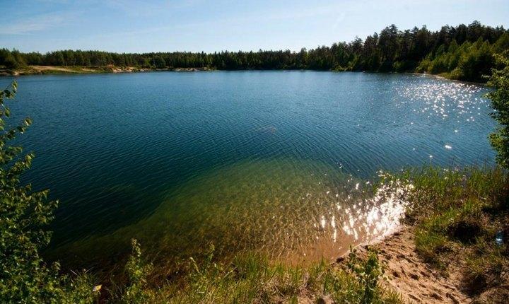 Голубые озера, московская область, фото