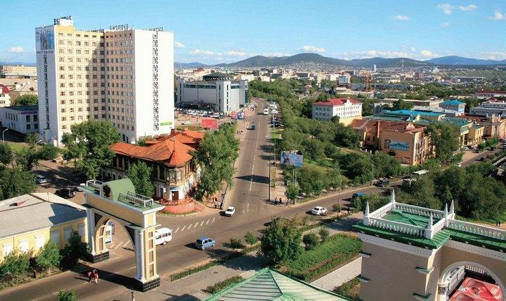 Город Улан-Удэ, фото