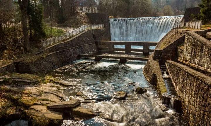 Исток реки Вислы, фото