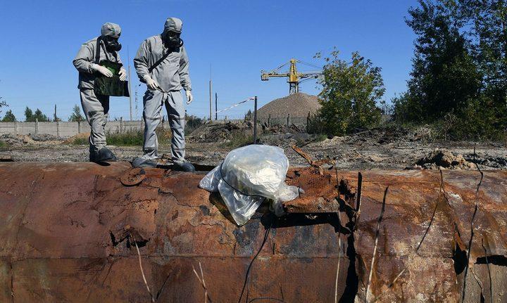 Ликвидация загрязнения в Усолье-Сибирском, фото