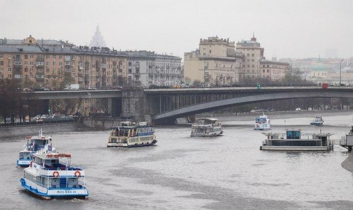 Навигация на Москве-реке, фото