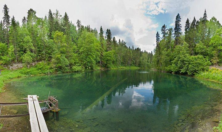 Радоновые озера, фото