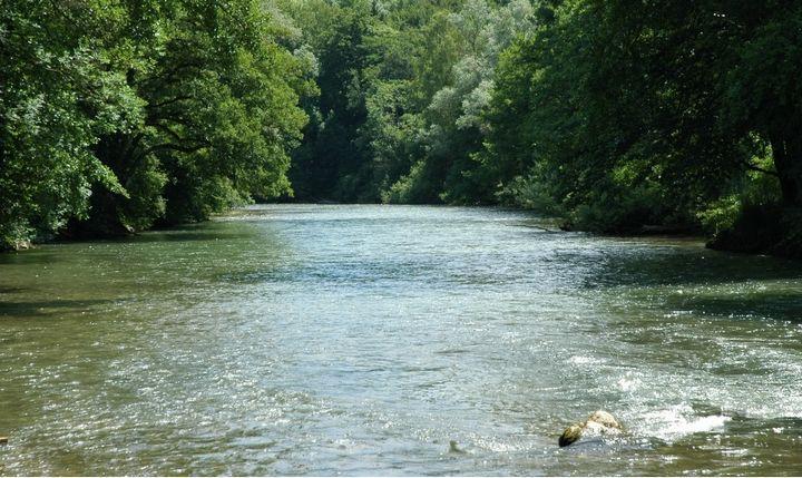 Река Ампер, фото