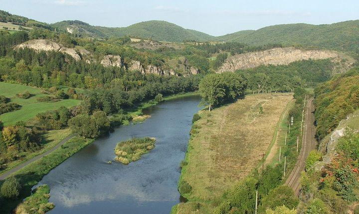 Река Бероунка, фото