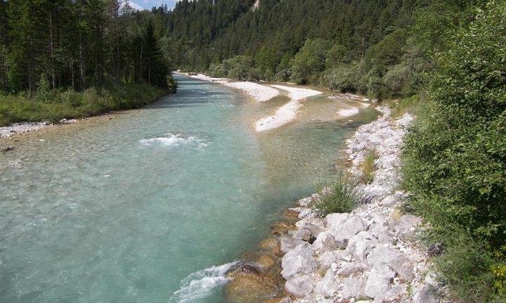 Река Изар, фото