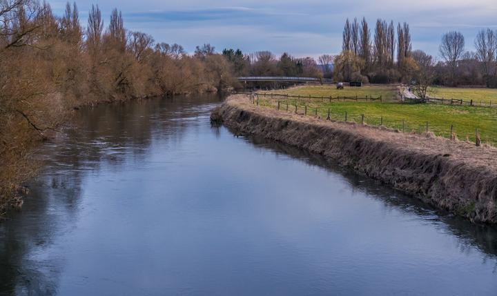 Река Лайне, фото
