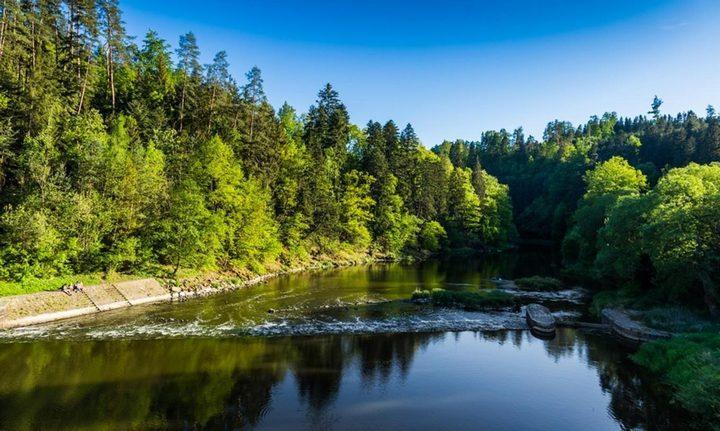 Река Лужнице, фото