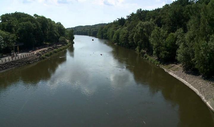 Река Огрже, фото