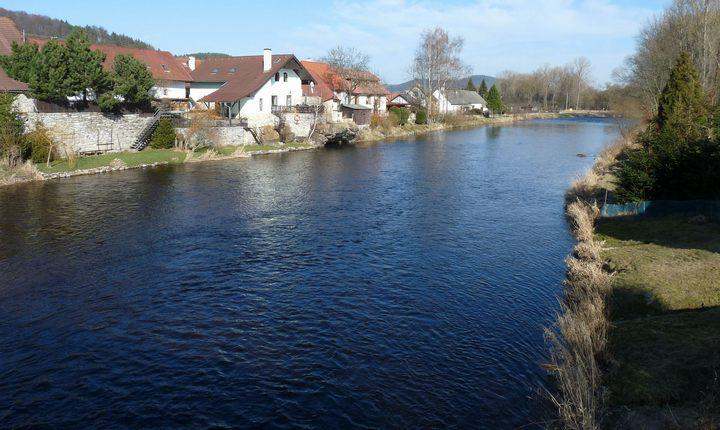 Река Отава, фото