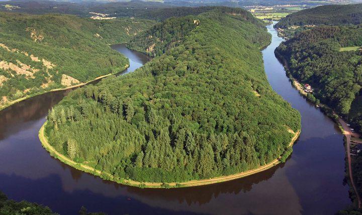 Река Саар, фото