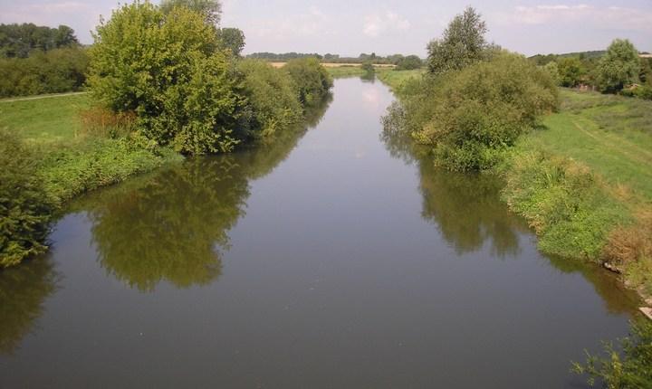 Река Унструт, фото