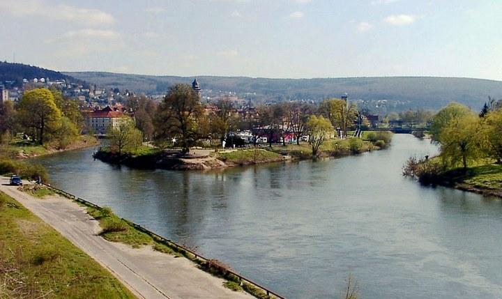 Река Везер, фото