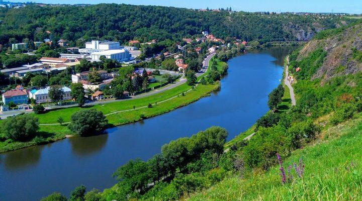 Река Влтава, фото
