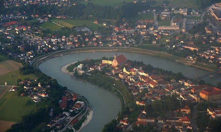 Река Зальцах, фото