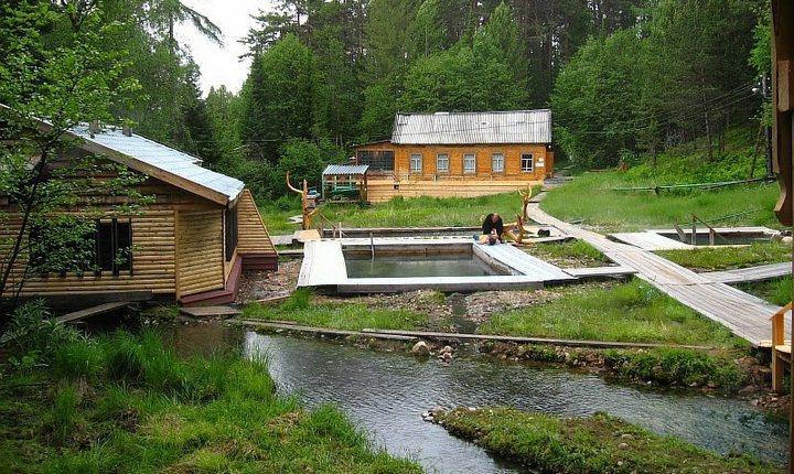Термальные источники Байкала, фото