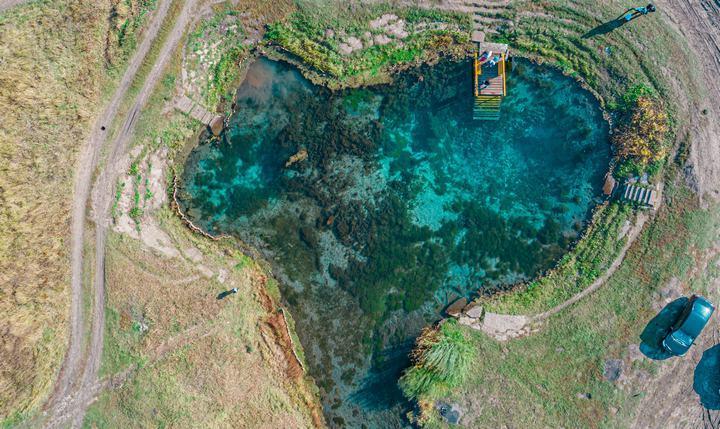 Озеро Голубое (Зянгяр куль), фото