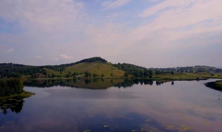 Озеро Карагайкуль, фото