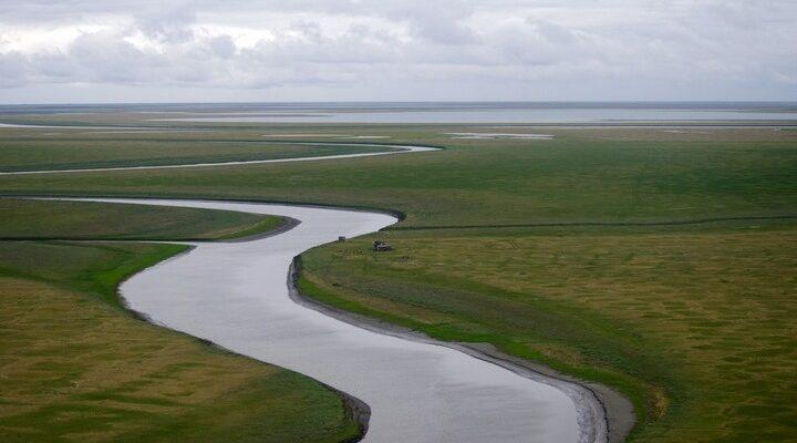 Река Алазея, фото