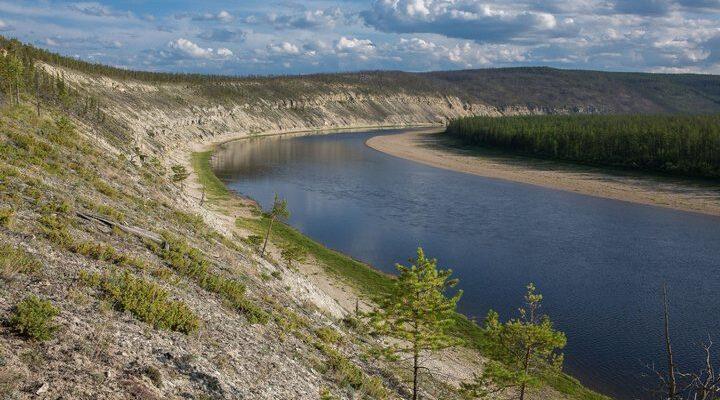 Река Амга, фото