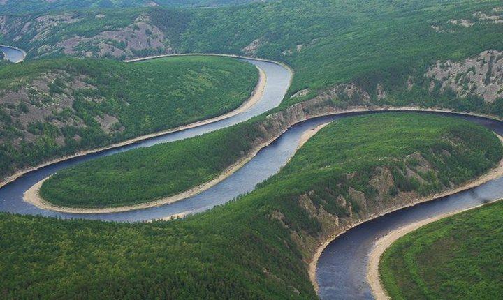 Река Олекма, фото