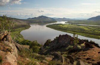 Река Селенга, фото