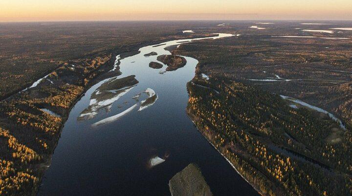 Река Таз, фото
